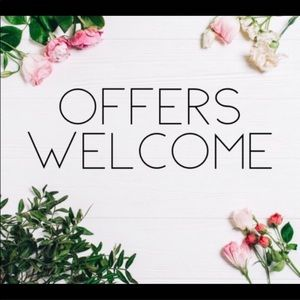💥RESONABLE OFFERS WELCOMED💥